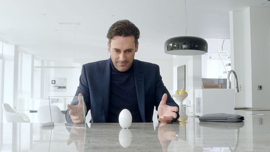 Yumurta şeklinde tuzluk mu o?