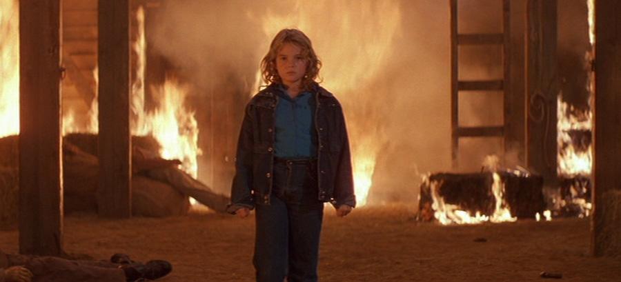 1984 yapımı Firestarter filminden bir sahne