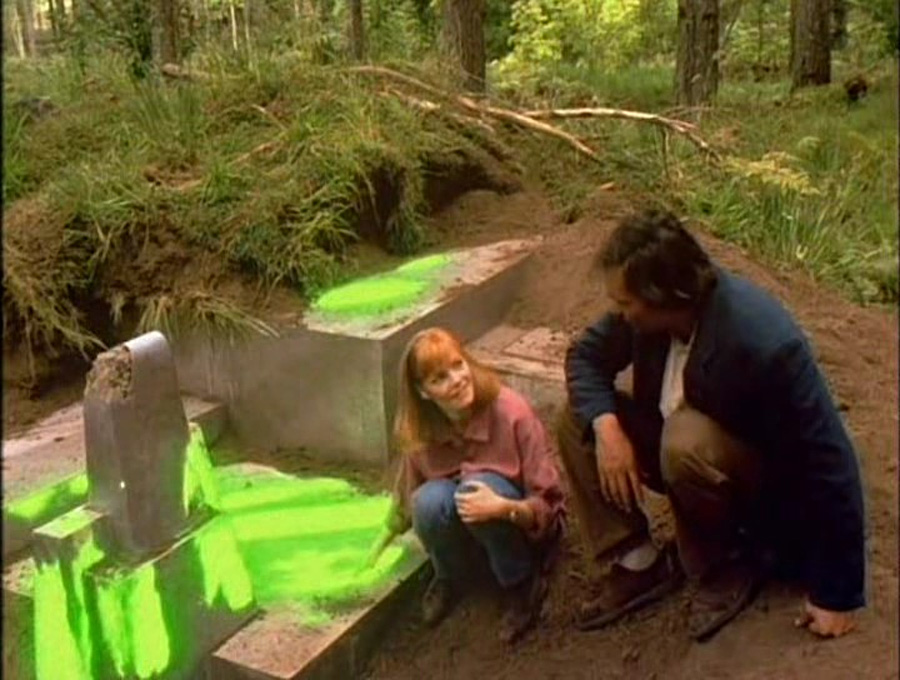 1993 yapımı The Tommyknockers dizisinden bir sahne