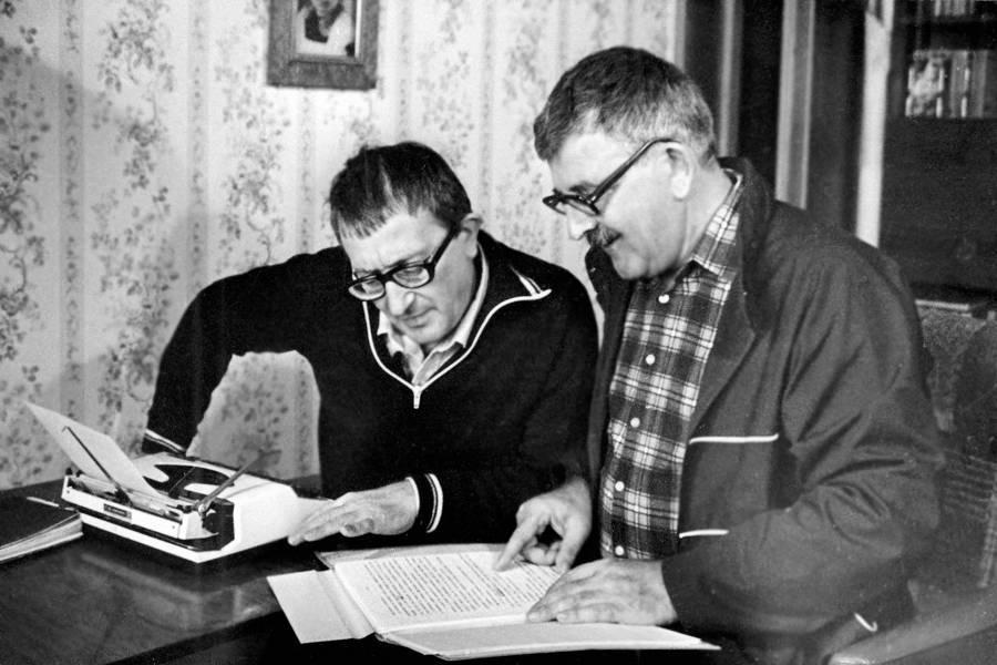 Arkadi ve Boris Strugatski kardeşler