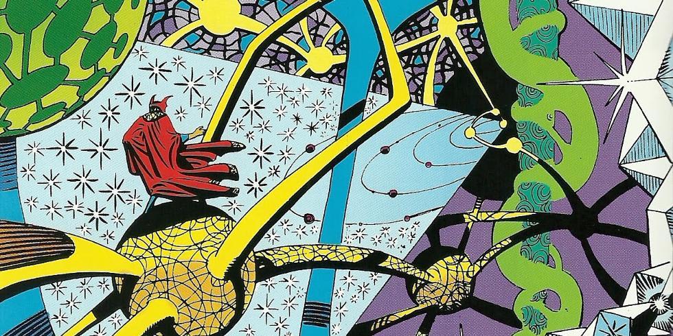 Steve Ditko'nun orijinal saykodelik çizimleri