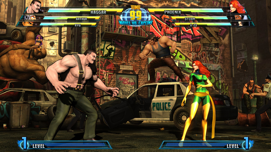 Marvel vs. Capcom 3: Fate of Two Worlds (2011) - Sizce kim alır maçı?