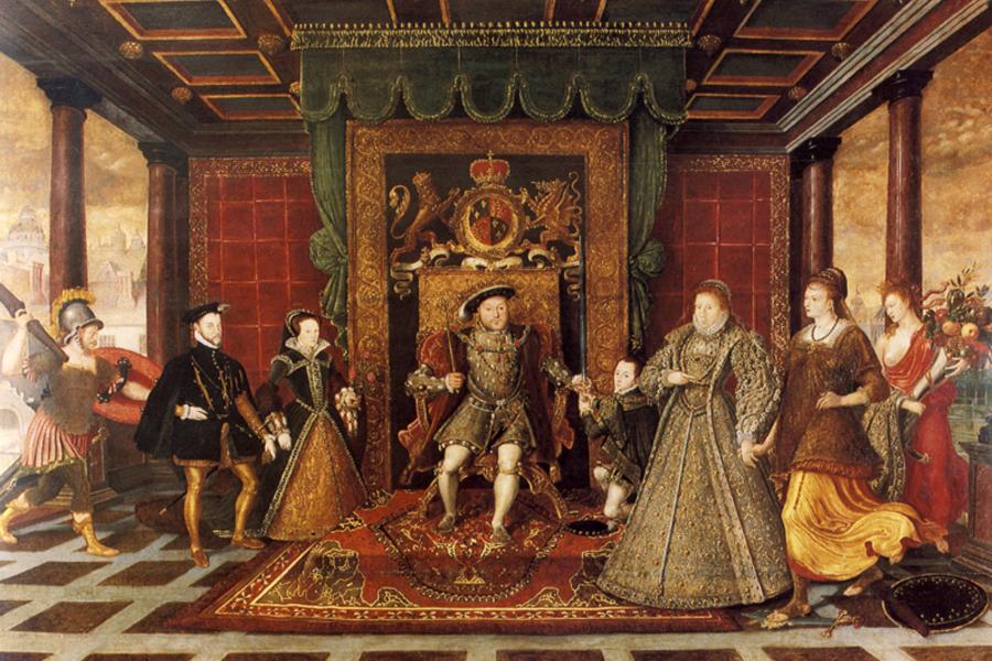 8. Henry ve maiyeti.