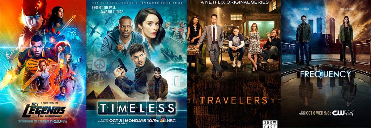 2016'nın zaman yolculuğu temalı dizileri