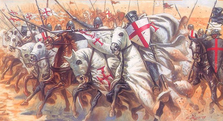 Image result for knights templar crusades