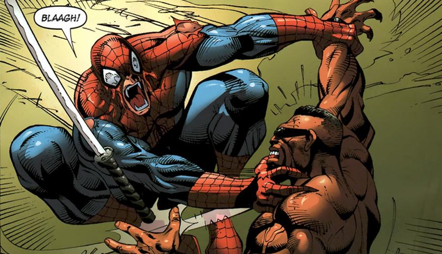 """""""Bak seni ıstırırım."""" Avenging Spider-Man"""
