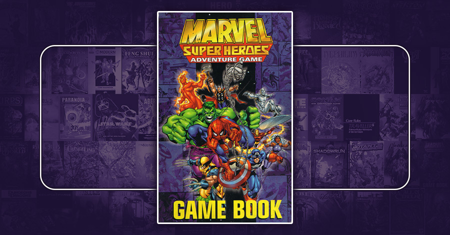 Marvel Super Heroes Adventure Game