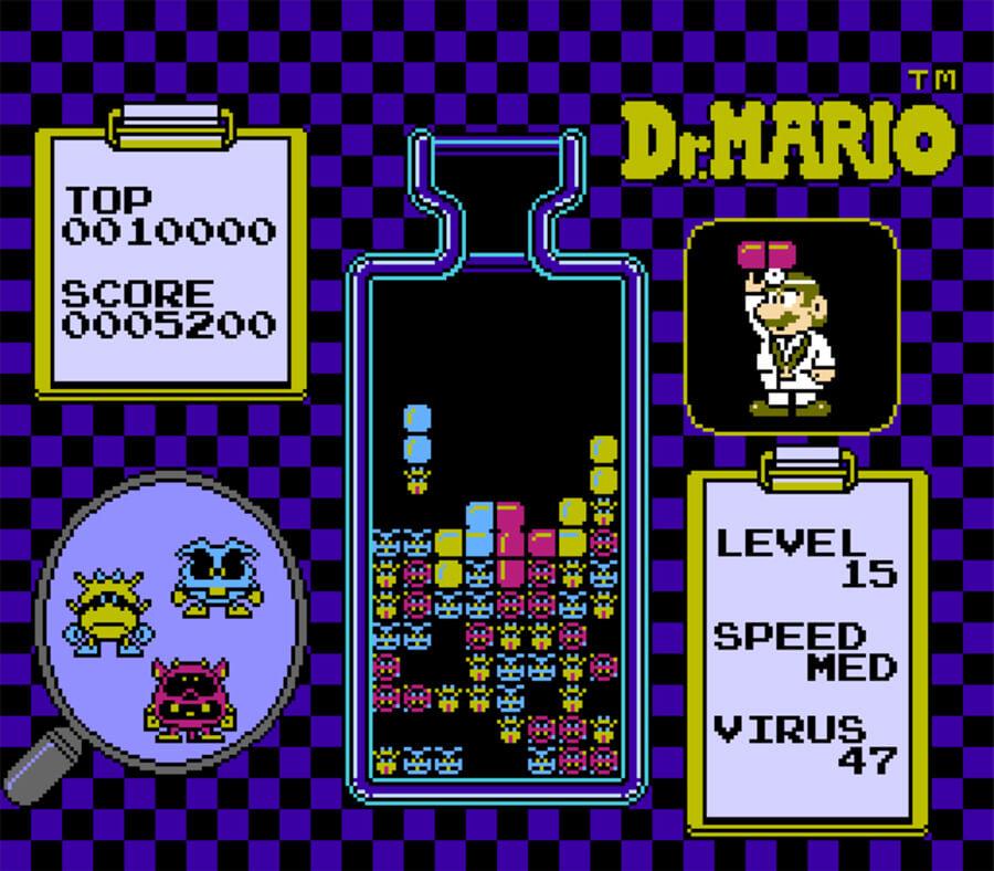 Dr. Mario - Nintendo NES (1990)