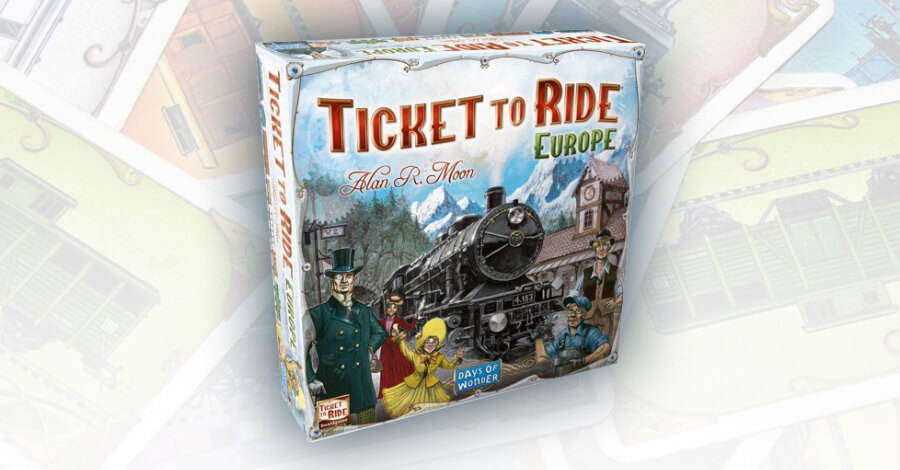 Ticket to Ride: Aurope