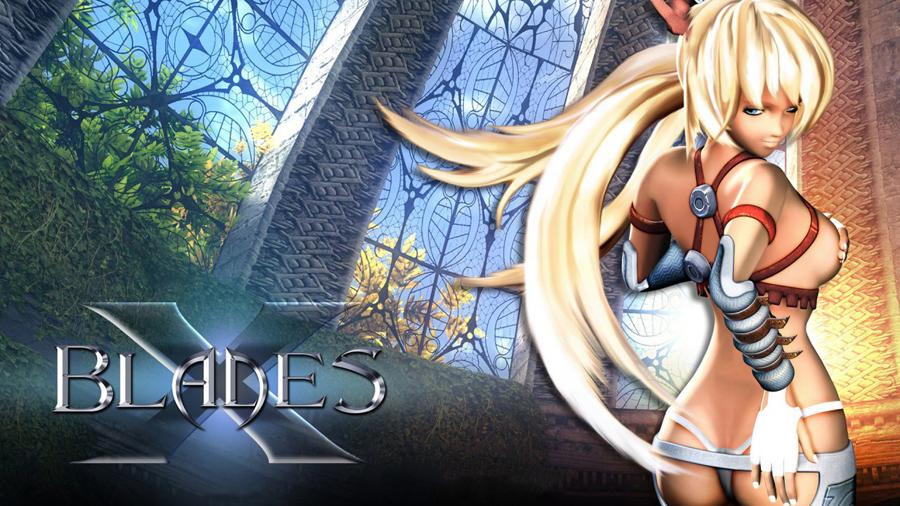 X Blades Ayumi Cosplay X-Blades: Işık Ç...