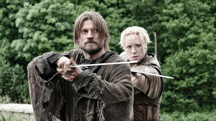 Jamie and Brienne